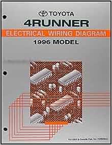 1996    Toyota    4Runner    Wiring       Diagram    Manual Original     Toyota