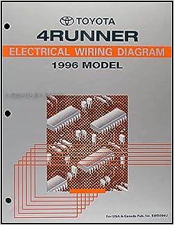 1996 toyota 4runner wiring diagram manual original: toyota: amazon com:  books