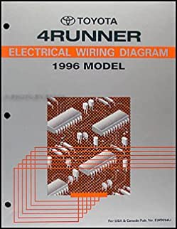 96 toyota 4runner wiring diagram wiring diagram autovehicle 1996 toyota 4runner wiring diagram manual original toyota amazon1996 toyota 4runner wiring diagram manual original toyota