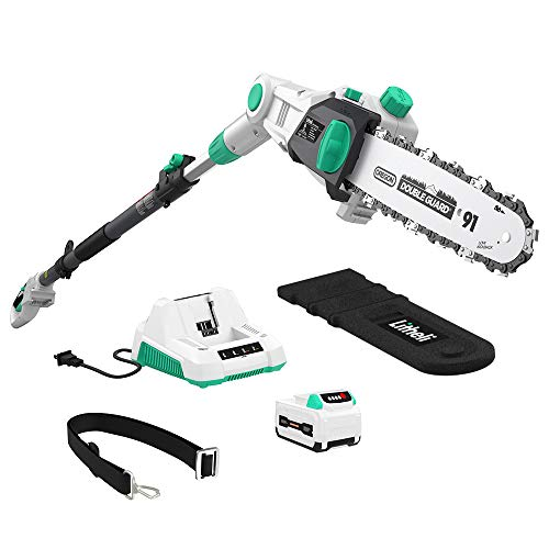 LiTHELi 40V Cordless Pole Saw 10 inches with 2.5AH Battery