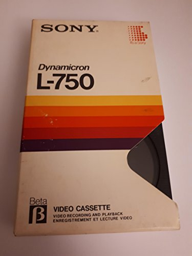 Sony Dynamicron L-750 Beta Video Tape