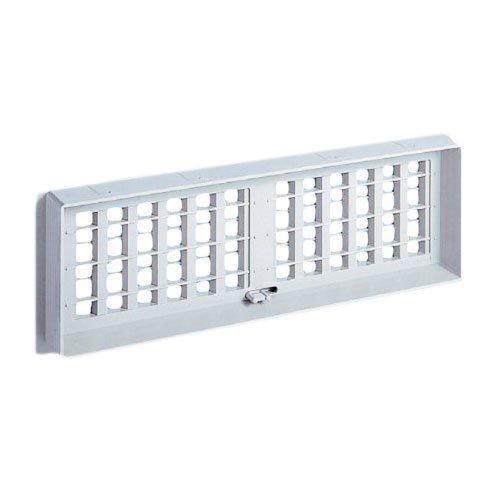 -  nasuta (Nasta) Square Underfloor Air Vent 130x130KS 0311pn-13-LG Light Gray