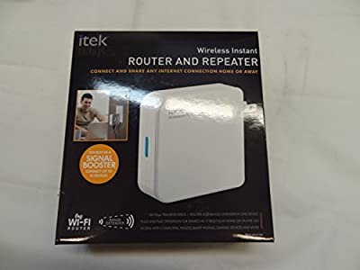 itek Wireless Instant Router and Repeater