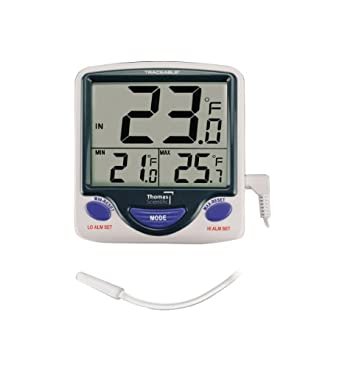 Control de 4148 Jumbo Display Módulo de monitoreo de termómetro, -50 °C a