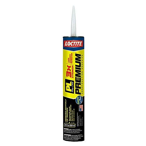 (Loctite PL Premium 28 fl. oz. Polyurethane Construction Adhesive (12-Pack))