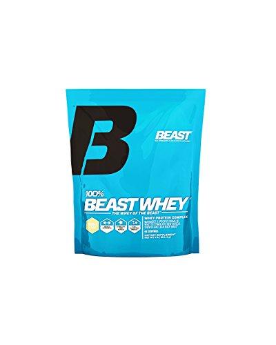 Beast Sports Nutrition 100% Beast Whey Protein Complex, Vanilla, 4.17 Pound