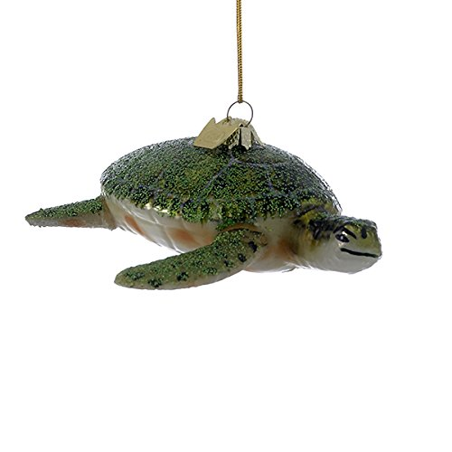 Bundle Pack of 8, Kurt Adler Noble Gems Sea Turtle Ornament