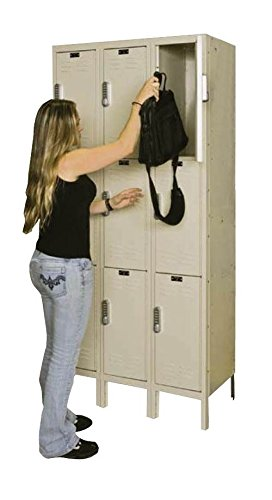 Hallowell UEL3258-3A-PT DigiTech Electronic Locker, 36