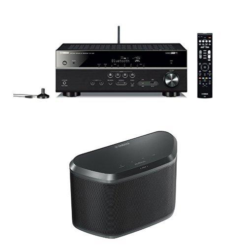 yamaha rx v481 musiccast receiver with yamaha wx 030bl. Black Bedroom Furniture Sets. Home Design Ideas
