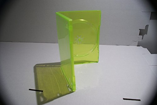 (Pack of 23 XBox 360 GREEN Empty DVD Game Boxes Cases replacement original)