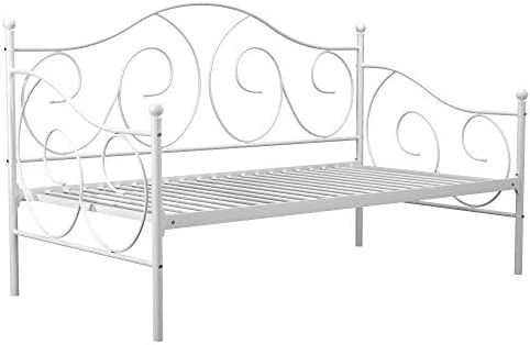 home, kitchen, furniture, bedroom furniture, beds, frames, bases,  beds 2 discount DHP Victoria Daybed, Twin Size Metal Frame, Multi deals