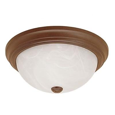 Millennium Lighting 565 3 Light Flush Mount Ceiling Fixture, Bronze