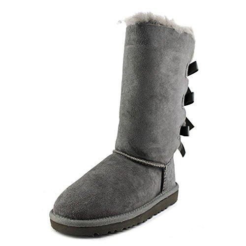 (UGG Children's Bailey Bow Tall Boot Little Kids,Grey,US 13)