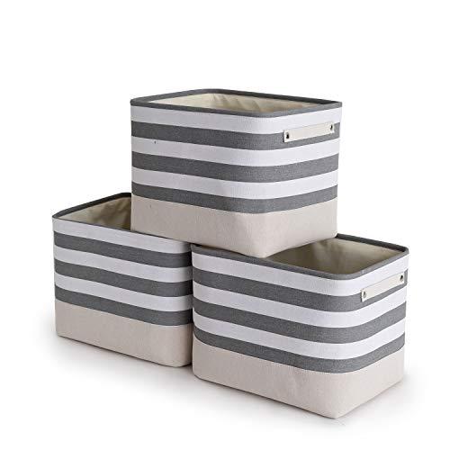 TheWarmHome Foldable Storage Basket