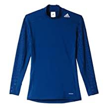 adidas Men's Techfit Base Long Sleeve Moch Graphic Tee