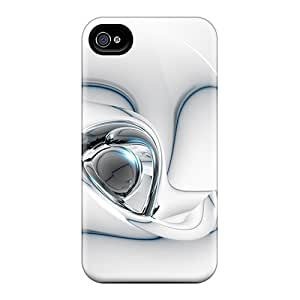 Premium Abstract 3d Background Iv Heavy-duty Protection Cases For Iphone 4/4s