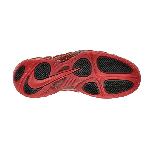 Nike Air Foamposite Pro, Chaussures de Sport-Basketball Homme, 41,5 EU Gym Red, Gym Red-black