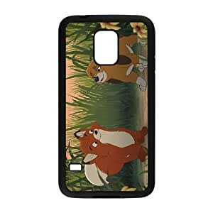 Samsung Galaxy S5 Mini Phone Case Black Fox and the Hound VC3XB2025804