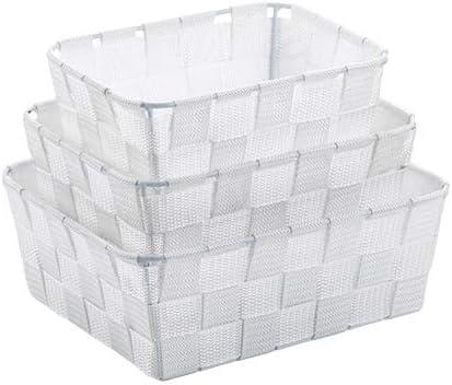 kela 23009 Caja de almacenaje Cesta de almacenaje Blanco ...