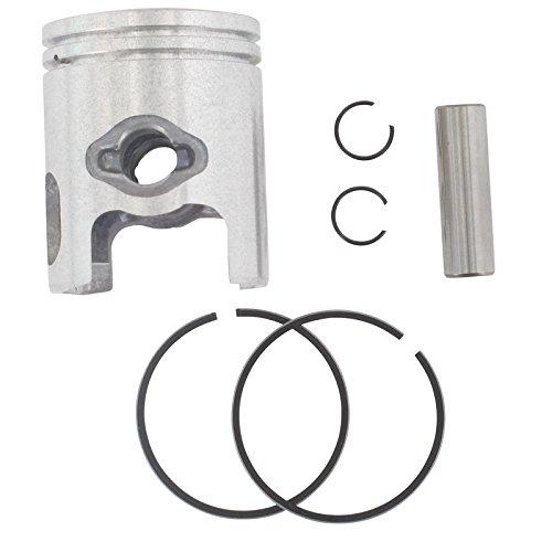 Clips XFIGHT parti pistone completo D40/mm incluso Spinotto 10/mm anelli nutbreite = 1.2/mm completamente il pistone Anelli = 0,7/mm 2takt 50/CCM Liegender Minarelli Motore