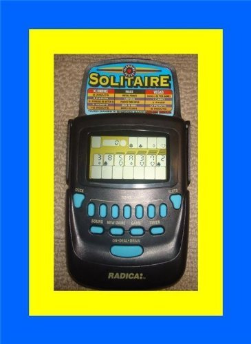 2 in 1 Electronic Handheld Solitaire (Klondike and Vegas) by Radica Games