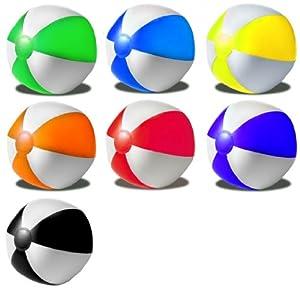R5G1 Wasserball Strandball aufblasbar ca. 26cm Durchmesser Wasserspielzeug G1...