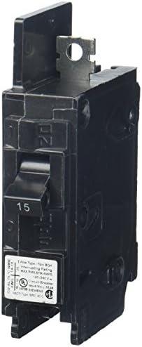 Siemens BQ1B015H 15-Amp Single Pole 120-Volt 22KAIC Lug In Lug Out Breaker