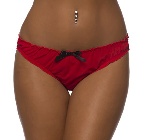 Sexy Sheer Ruched Ruffle Panty product image