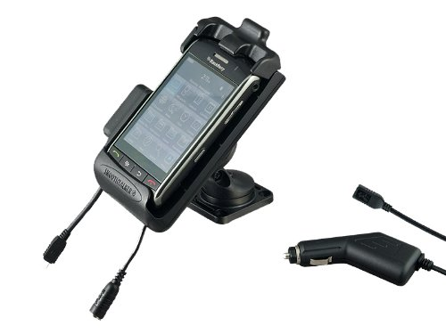 Smoothtalker Charging Phone Holder Cradle with Antenna Connection for Blackberry Storm 9530 / ()