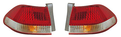 01 - 02 Honda Accord 4 Door Sedan Only Taillamp Taillight Pair Set 2001 2002 Driver and Passenger Honda Accord 2 Door Tail