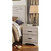 Briartown 2 Drawer Nightstand in Whitewash