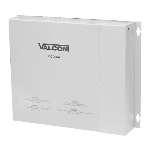 Valcom Page Control - 6 Zone 1Way (Single Line Paging Controller)