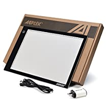 Light Box Pad Stander,AGPtEK Multifunction 7 Angles Points Skidding Prevented Tracing Holder