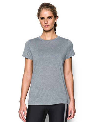 Under Armour Women's Tech Twist T-Shirt, Steel (035), XX-Large