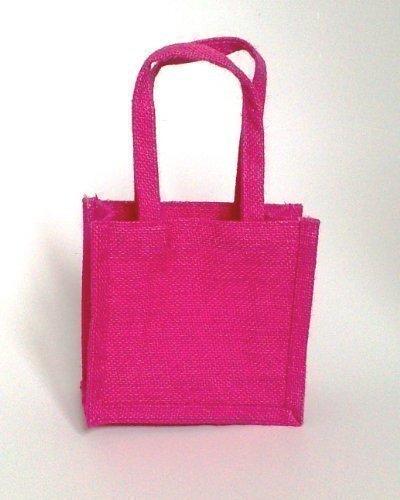 Pack de 6 bolsas de regalo pequeña ecológica yute/arpillera ...