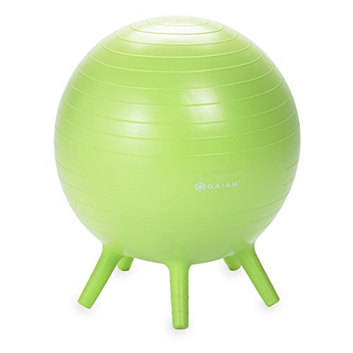 Gaiam Kids Stay N Play Balance Ball Lime