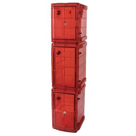 Bel-Art Bundled Secador 2.0/4.0/4.0 Gas-Purge Desiccator Cabinets in Amber Color; 5.3 cu. ft. (F42074-0443)
