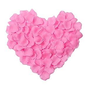 Jasmine 1000 Pieces Silk Artificial Rose Petals Wedding Party Flower Decoration 75