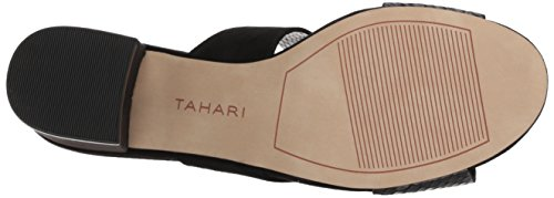 Tahari Women's Ta-Dover Heeled Sandal Black j2SzPgY4