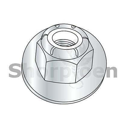 Box of 100 Nylon Insert Hex Lock Nut 18 8 Stainless Steel 10-32 NM by Shorpioen BC-11NS188-100
