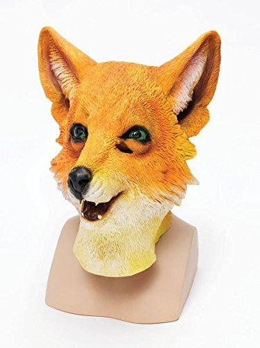 Fantastic Mr Fox Halloween Costume (Mr Fox Overhead Rubber Mask)