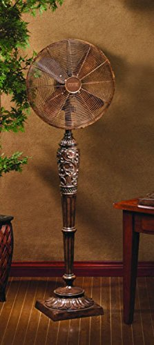 DecoBREEZE Pedestal Fan 3 Speed Oscillating Fan, 16 In, Cantalonia (Oscillating Deco Breeze Fan)