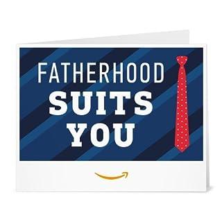 Amazon Gift Card - Print - Fatherhood Suits You (B07CP7KYBJ) | Amazon price tracker / tracking, Amazon price history charts, Amazon price watches, Amazon price drop alerts
