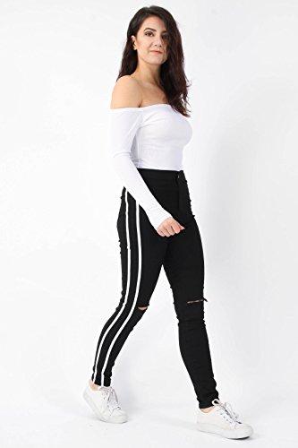 noir Noir Jeans Missi Femme London qwtU1x48