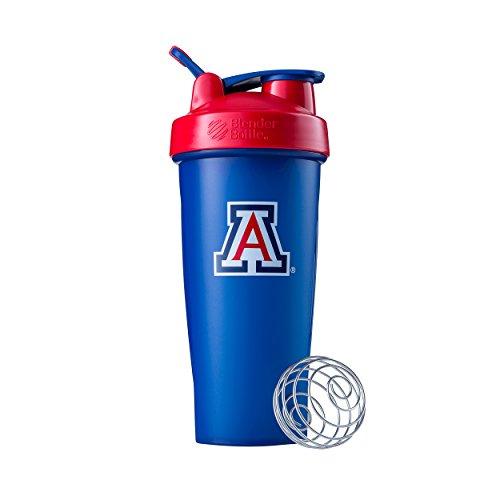 BlenderBottle Collegiate Classic 28-Ounce Shaker Bottle, University of Arizona Wildcats - -