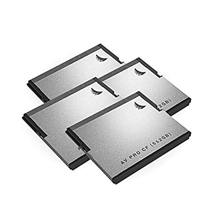 Image of Angelbird 512GB AV Pro CF CFast 2.0 Memory Card (4-Pack) Film Cameras