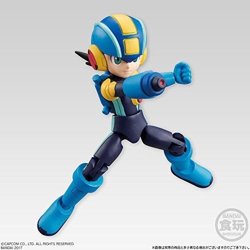 Mega Man 66 Action Dash Mega Man EXE Battle Network Sword Mini Action Toy Figure