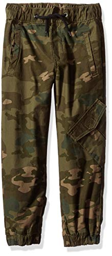 - Crazy 8 Boys' Big Drawstring Woven Jogger Pant, camo Urban, 10
