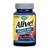 Nature's Way Alive Men's 50 Plus Gummy Vitamins