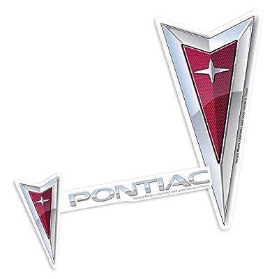 Pontiac Logos Collectible Stickers: Home & Kitchen